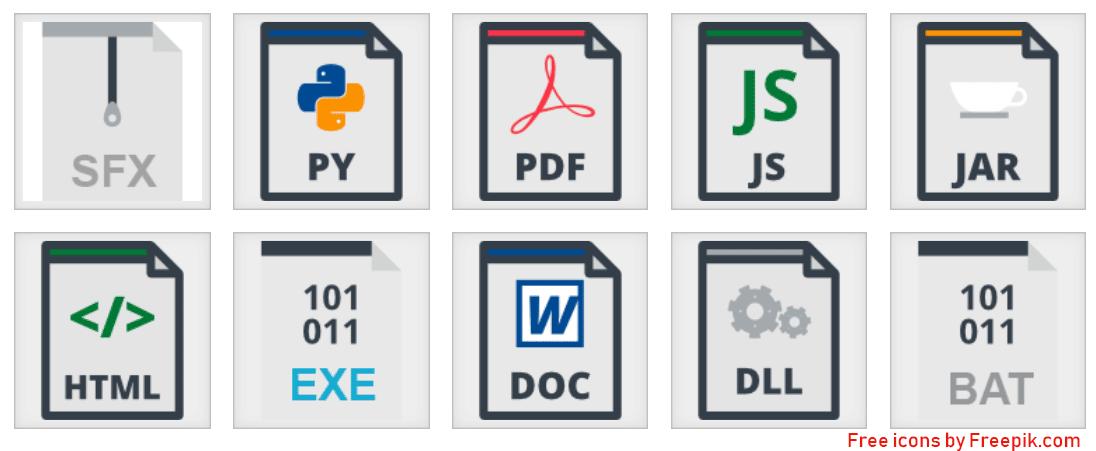 Quel est le nom d'un logiciel qui peut infecter un fichier?