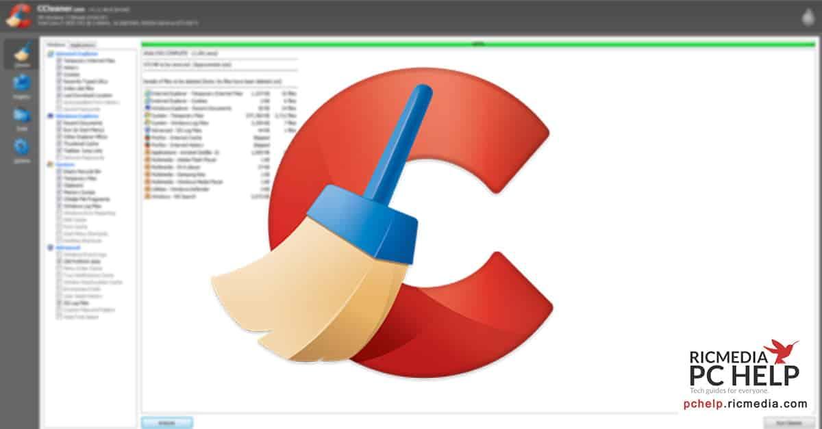 Comment faire un bon nettoyage avec CCleaner?